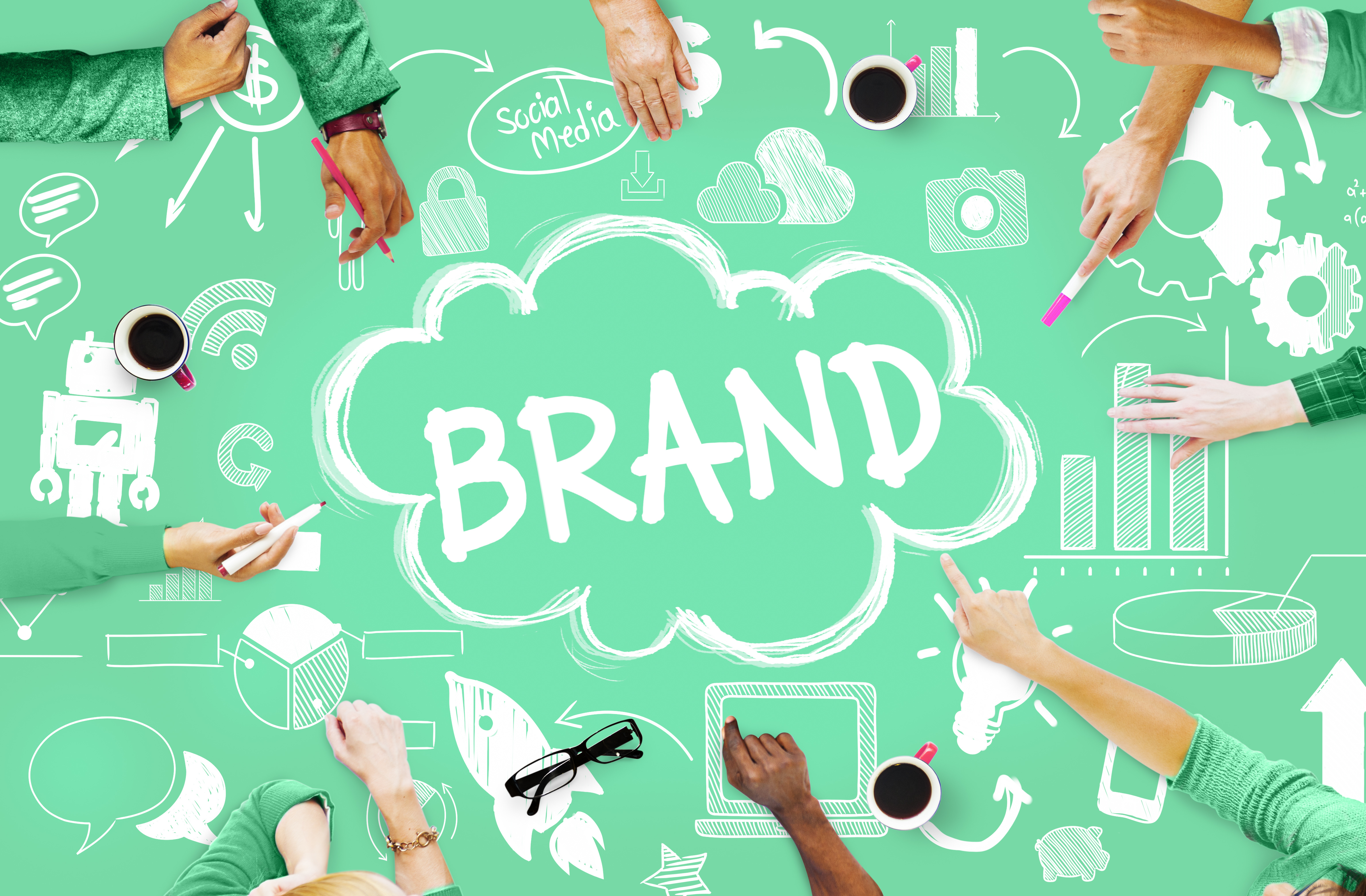 how to build your brand online sponsoredlinx brand commercial marketing product branding concept